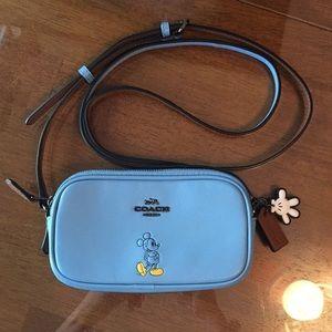 Coach Disney Mickey Crossbody Bag! Authentic! NWOT